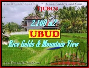 Beautiful PROPERTY UBUD BALI 2,100 m2 LAND FOR SALE TJUB423