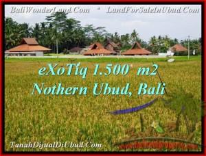 Magnificent 1,500 m2 LAND SALE IN UBUD TJUB488