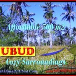 FOR SALE Magnificent PROPERTY 500 m2 LAND IN UBUD BALI TJUB433