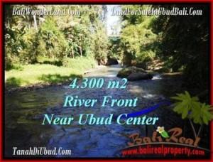 Affordable UBUD 4,315 m2 LAND FOR SALE TJUB499