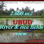 Magnificent PROPERTY 2,600 m2 LAND FOR SALE IN Ubud Tegalalang TJUB421