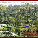 Exotic UBUD BALI 1,500 m2 LAND FOR SALE TJUB503