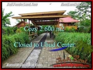 Beautiful PROPERTY 2,600 m2 LAND SALE IN Sentral Ubud TJUB491