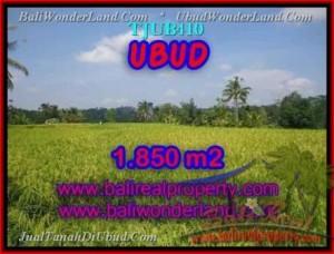 Affordable PROPERTY 1,850 m2 LAND IN UBUD BALI FOR SALE TJUB410