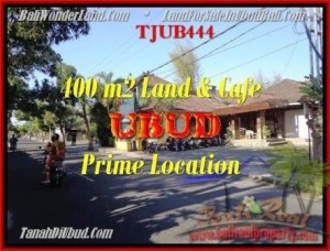Affordable PROPERTY UBUD BALI 400 m2 LAND FOR SALE TJUB444