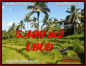 Exotic PROPERTY LAND IN UBUD FOR SALE TJUB550