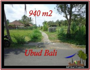 FOR SALE Magnificent PROPERTY 940 m2 LAND IN Ubud Tampak Siring TJUB531