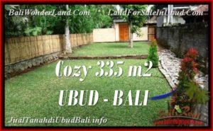 335 m2 LAND IN UBUD BALI FOR SALE TJUB537
