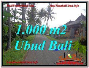 Exotic UBUD 1,000 m2 LAND FOR SALE TJUB604