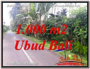 Affordable LAND FOR SALE IN Ubud Tegalalang BALI TJUB614