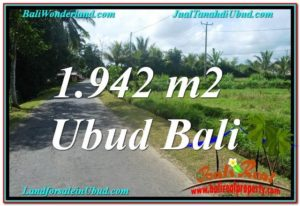 Exotic PROPERTY UBUD BALI 1,942 m2 LAND FOR SALE TJUB626
