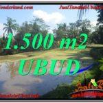 Beautiful PROPERTY 1,500 m2 LAND IN Ubud Payangan FOR SALE TJUB630
