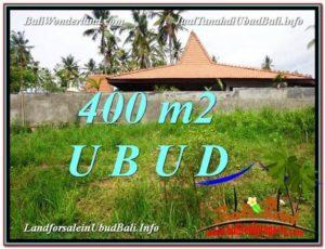 Magnificent 400 m2 LAND FOR SALE IN Sentral Ubud TJUB585