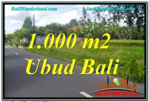 Exotic LAND FOR SALE IN UBUD TJUB649