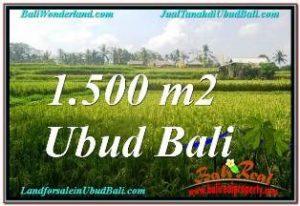 Affordable LAND SALE IN UBUD TEGALALANG BALI TJUB667