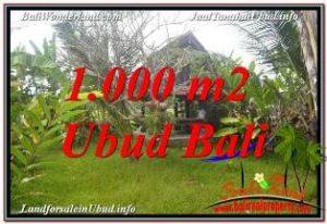 SENTRAL UBUD 1,000 m2 LAND FOR SALE TJUB680