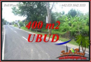 FOR sale Exotic Property 400 m2 Land in Sentral Ubud TJUB725