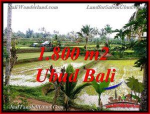 Exotic TEGALALANG UBUD 1,800 m2 LAND FOR SALE TJUB769